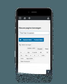 Wordpress CMS mobiel