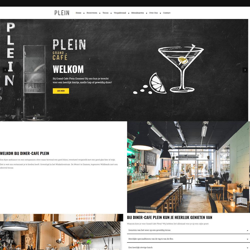 Diner Cafe Plein